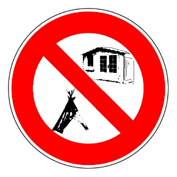 cabanes tipis yourtes interdits