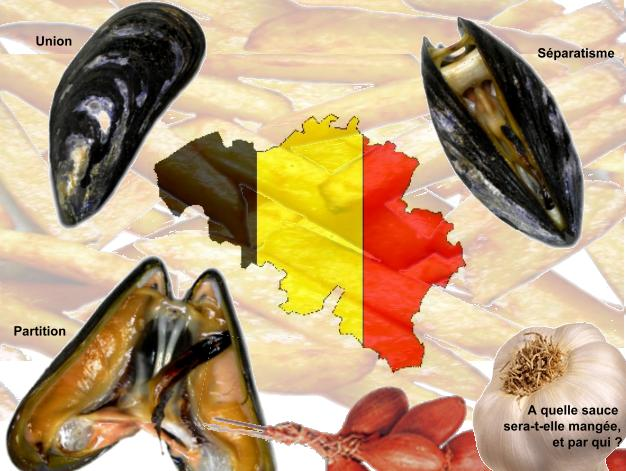moules, frites, Belgique, union ou désunion